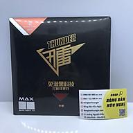 Mặt vợt bóng bàn Reactor Thunder Max lót bọt khí đen thumbnail