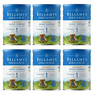 6 Lon Sữa Bột Bellamy s Organic Số 1 (900g) thumbnail