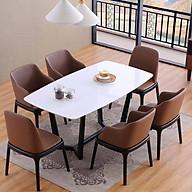Bộ bàn ăn Concorde và 6 ghế Grace thumbnail