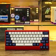 Bàn phím cơ Leopold FC650MDS PD White Navy Red Font Blue Star (Red Case) - Hàng chính hãng thumbnail