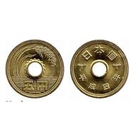 Đồng xu 5 yên Nhật Bản, một trong những đồng xu may mắn nhất thế giới thumbnail