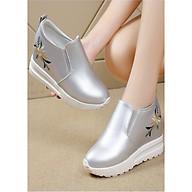 Giày slip on độn 7p da cao cấp siêu mềm siêu nhẹ SLO438922 thumbnail