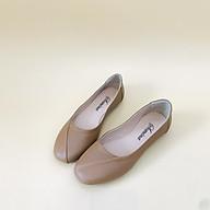 [ Shop giày somina ] Búp bê da thật mũi vuông MT260 thumbnail