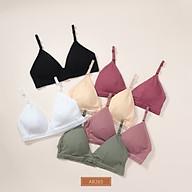 Áo ngực Just Bra chất thun mềm không gọng mang lại cảm giác thoải mái AB265 thumbnail