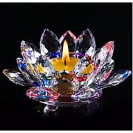 Chân nến thờ thủy tinh pha lê cao cấp AN1305 thumbnail