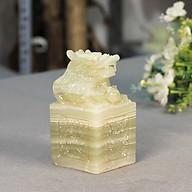 Ấn Rồng Phong Thủy Ngọc Pakistan Roxi - 10cm thumbnail