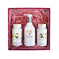 Liệu trình 2 hộp thực phẩm chức năng AZ White viên uống trắng da (tặng 1 chai Sữa rửa mặt và tẩy trang AZ 200ml) thumbnail