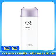 Kem chống nắng MISSHA All Around Safe Block Velvet Finish Sun Milk SPF50+PA++++ thumbnail