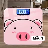 Cân sức khỏe đo cân nặng và đo nhiệt độ thumbnail