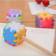 Gọt bút chì Khối Ghép Hình độc đáo - Gọt bút chì văn phòng phẩm tiện dụng cho bé thumbnail