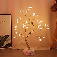 Cây đèn led trang trí phòng ngủ phòng khách thumbnail
