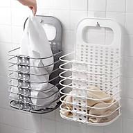 Combo 2 Giỏ đựng đồ máy giặt gấp gọn tiện lợi ( giao mầu ngẫu nhiên ) thumbnail