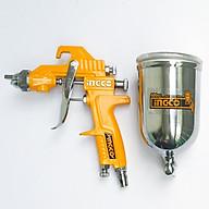 Dụng cụ phun sơn 400cc ingco ASG4042 (có chỉnh gió) thumbnail