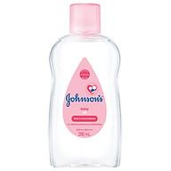 Dầu dưỡng ẩm mát xa Johnson s Baby (200ml) thumbnail
