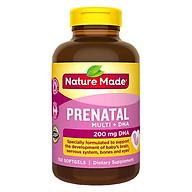 Thực phẩm chức năng cho bà bầu Nature Made Prenatal Multi + DHA (150 Viên) thumbnail