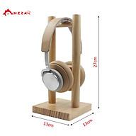 Giá treo tai nghe chụp tai, headphone chất liệu gỗ thông tự nhiên cao cấp hàng chính hãng Anzzar TN-02 thumbnail