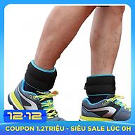 Tạ đeo chân tay chạy bộ tập gym , tập thể hình chuyên nghiệp ( 1 đôi 2kg 1 chiếc ) thumbnail
