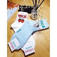 Combo Tất Vớ Nữ Hàn Quốc Cao Cấp, Thương Hiệu KikiYa Socks, Đẹp, Cá Tính, Dễ Thương. thumbnail