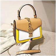 Túi xách tay đeo chéo nữ thời trang T56 20x17x10cm (Đỏ-Đen-Nâu-Hồng) thumbnail