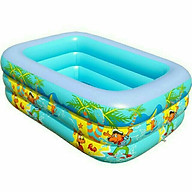 Bể Bơi Phao Tại Nhà Cho Bé 150cmx100cmx45cm thumbnail