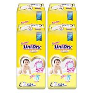 Combo 4 Tã Dán Cho Bé UniDry (G6+) size XL34 (34 miếng) thumbnail