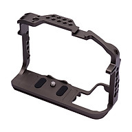 Andoer Aluminum Alloy Camera Cage Protective Vlog Cage with Dual Cold Shoe Mounts for Microphone LED Light Monitor thumbnail