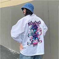 Áo Khoác Dù Chống Nắng Cho Nam Nữ Đôi Có 2 Màu, Ulzzang Unisex in hình XOXO Form Rộng Jacket 123SHOP thumbnail