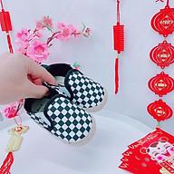 Giày Tập Đi Giày Lười Cho Bé Trai Sơ Sinh size từ 0-12 Tháng thumbnail