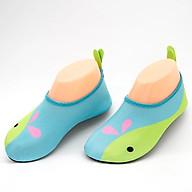 Giày Đi Dưới Nước Trẻ Em chống trơn trượt, gọn nhẹ, sử dụng nhiều lần, phù hợp đi du lich, thân thiện với môi trường, chịu nước tốt và nhanh khô, nhiều màu lựa chọn (SK018) Blue Dolphin thumbnail