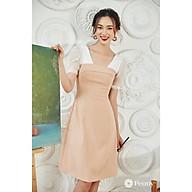 Peony Design - Váy be dáng A, tay organza - BEIGE DRESS thumbnail