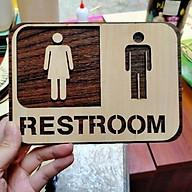 Bảng gỗ toilet Decor thumbnail