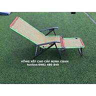 ghế xếp khung sơn tĩnh điện đan dây đài loan thumbnail