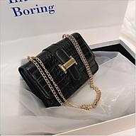 Túi xách nữ thiết kế nhỏ gọn phối dây xích thời trang hàn quốc cao cấp cho nữ SIÊU HOT thumbnail