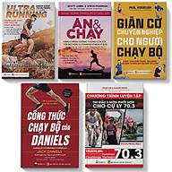 Sách - Combo Chạy Bộ - Dinh Dưỡng - Giãn cơ - Pandabooks thumbnail