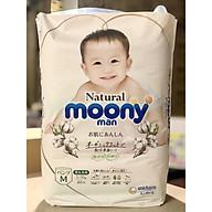 Gói bỉm bông organic Moony Natural Size M quần thumbnail