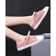 Giày Sục Sneaker Thể Thao Nữ Vải Mềm Stye Hàn Quốc Cực Xinh 3Fashion - 3181 thumbnail
