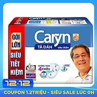 Tã Dán Siêu Thấm Caryn Gói Siêu Tiết Kiệm M-L40 (40 Miếng) thumbnail
