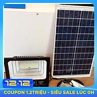 Đèn pha led năng lượng mặt trời Solar 100W thumbnail