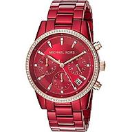 Michael Kors Women s Ritz Chronograph Watch thumbnail