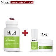 Viên uống trẻ hoá Murad Youth Builder 120 viên Tặng Retinol Serum 10ml + RSG Night Cream 7.5ml thumbnail
