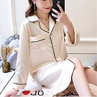 Áo choàng ngủ vải phi lụa ArcticHunter, thời trang thương hiệu chính hãng thumbnail