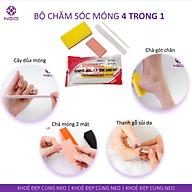Bộ Dụng Cụ Chăm Sóc Móng Chuyên Nghiệp 4 Trong 1 NEO Thuận Tiện Và Vệ Sinh Professional Pedicure Kit 4 in 1 thumbnail
