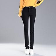 Women s Korean Slim Slimming Jeans Women s New Trendy Straight Leg Pants Large Size Pants Wholesale (26) thumbnail