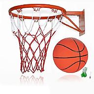 Vành bóng rổ 40cm +quả bóng rổ số 7 (tặng túi lưới và kim bơm) thumbnail