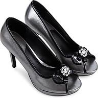 Giày cao gót hở mũi phối nơ đính đá - Sablanca 5050HM0007 thumbnail