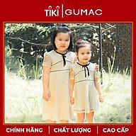 Đầm cho bé gái chất liệu ren phối viền dễ thương xinh xắn GUMAC DKA356 màu Kem ( dành cho bé gái từ 12 tháng đến 7 tuổi) thumbnail