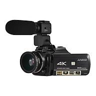 Máy Quay Phim Andoer AC3 4K Có Lens Rời Kết Nối Wifi Màn Hình Cảm ứng + Micro Rời (24MP) (3.1 Inch) (Zoom 30X) (0.45X Lens) thumbnail