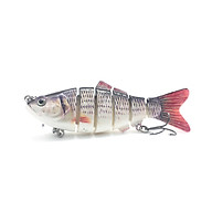 Mồi Câu Cá Giá 6 Khúc Action Chuẩn Câu Cá Lóc Bông, Cá Chẽm, Cá Bass, Cá Nhồng Cực Nhạy (12,8g 80mm ) thumbnail