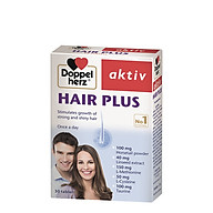 Thực phẩm bảo vệ sức khỏe DOPPELHERZ AKTIV HAIR PLUS thumbnail