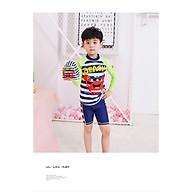 Đồ bơi bé trai tay dài chống nắng- cua SNAP, từ 30-45kg thumbnail